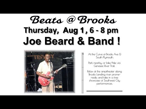 2019-08-01 - Beats @ Brooks -- Joe Beard & Band