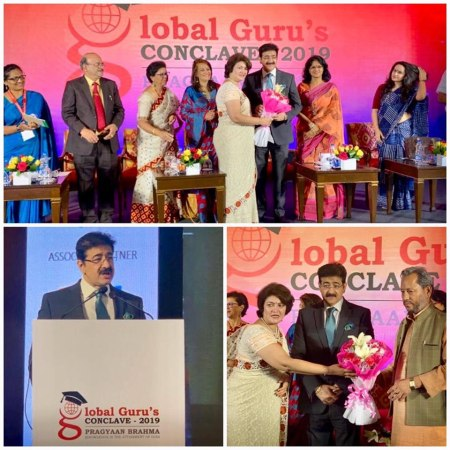 Sandeep Marwah Honored As Global Media Guru at Global Guru Conclave