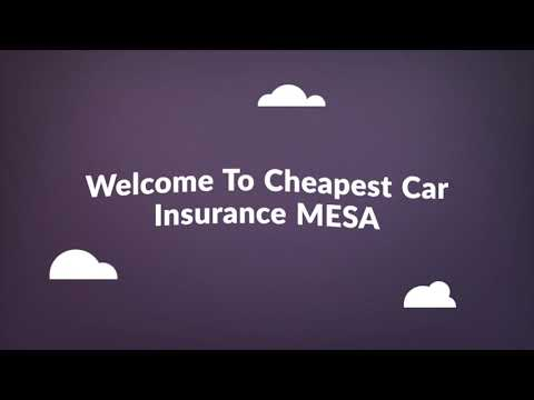 Cheap Car Insurance in Mesa AZ