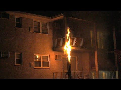 Whitehall, Pennsylvania Balcony Fire