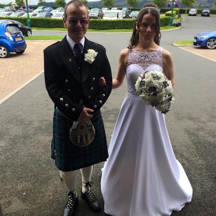 Claire Douglas Wedding
