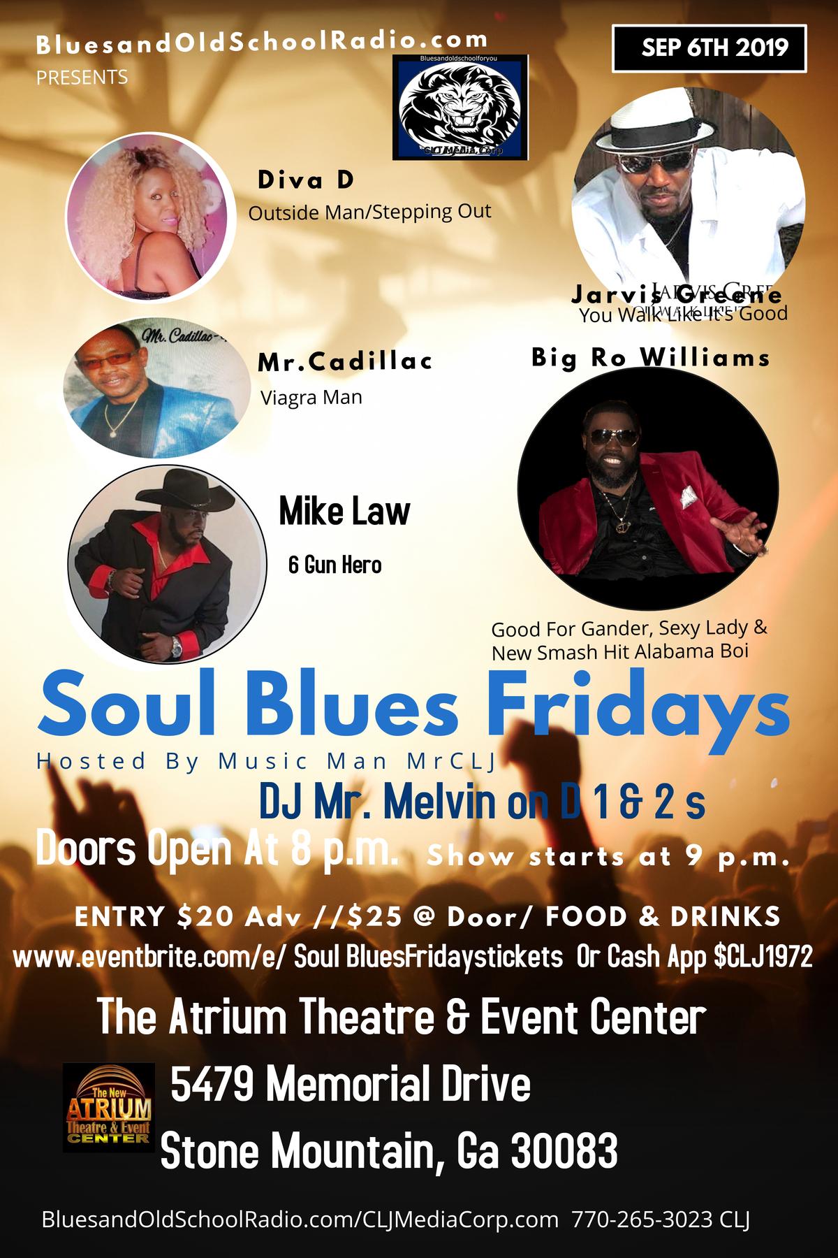 Soul Blues Fridays