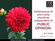 Thought For The Day ( PUBLIC OPINION )