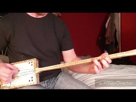 Disorder - Ice-T and Slayer - One String Diddley Bow Guitar Cover