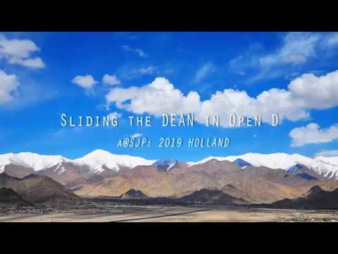 Sliding The Dean in Open D      -     A. D. Eker  2019