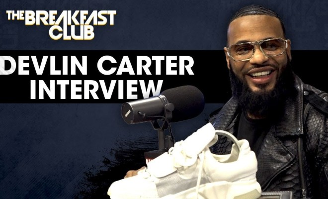 Devlin Carter Talks Independent Shoe Design On The Breakfast Club