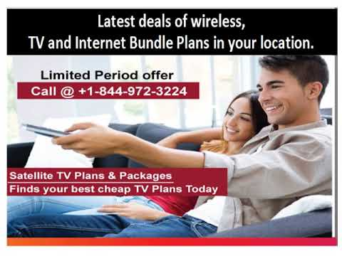 Satellite TV- Internet -Phone Bundle Deals (USA)