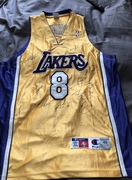 lakers jersey signed