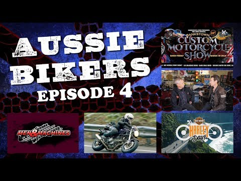AUSSIE BIKERS // Men and Machines // Episode 04