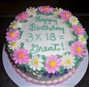 Birthday Cake forTriplets