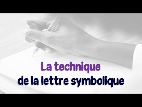 Lettre symbolique