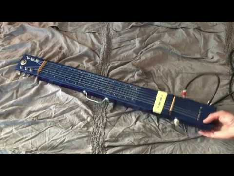 2X4 Lap Steel - build & demo