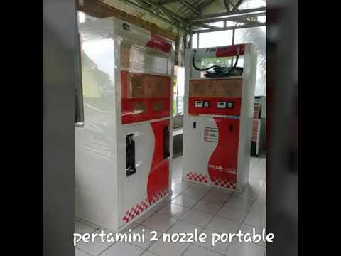 Pom mini Pertamini digital 2 nozzle portable|081320056565