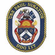 USS Paul Ignatious DDG 117