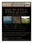 Soil Health and Water Quality in the Thames River Basin