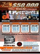 FALL FRENZY $50,000 DRAGS