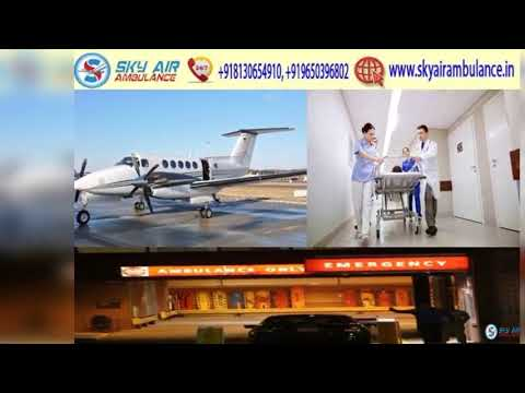 Take Advantage of Sky Air Ambulance from Bhubaneswar with Medical Team