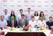 Powerful Chinese Media Delegation At Marwah Studios