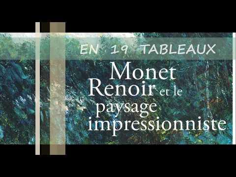 Monet Renoir et le paysage impressionniste