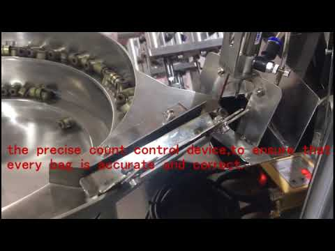 Counting plate packing machine