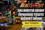 AMA Monster Energy Supercross Tempa Tickets