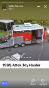 1969 Attex H-D Toy Hauler