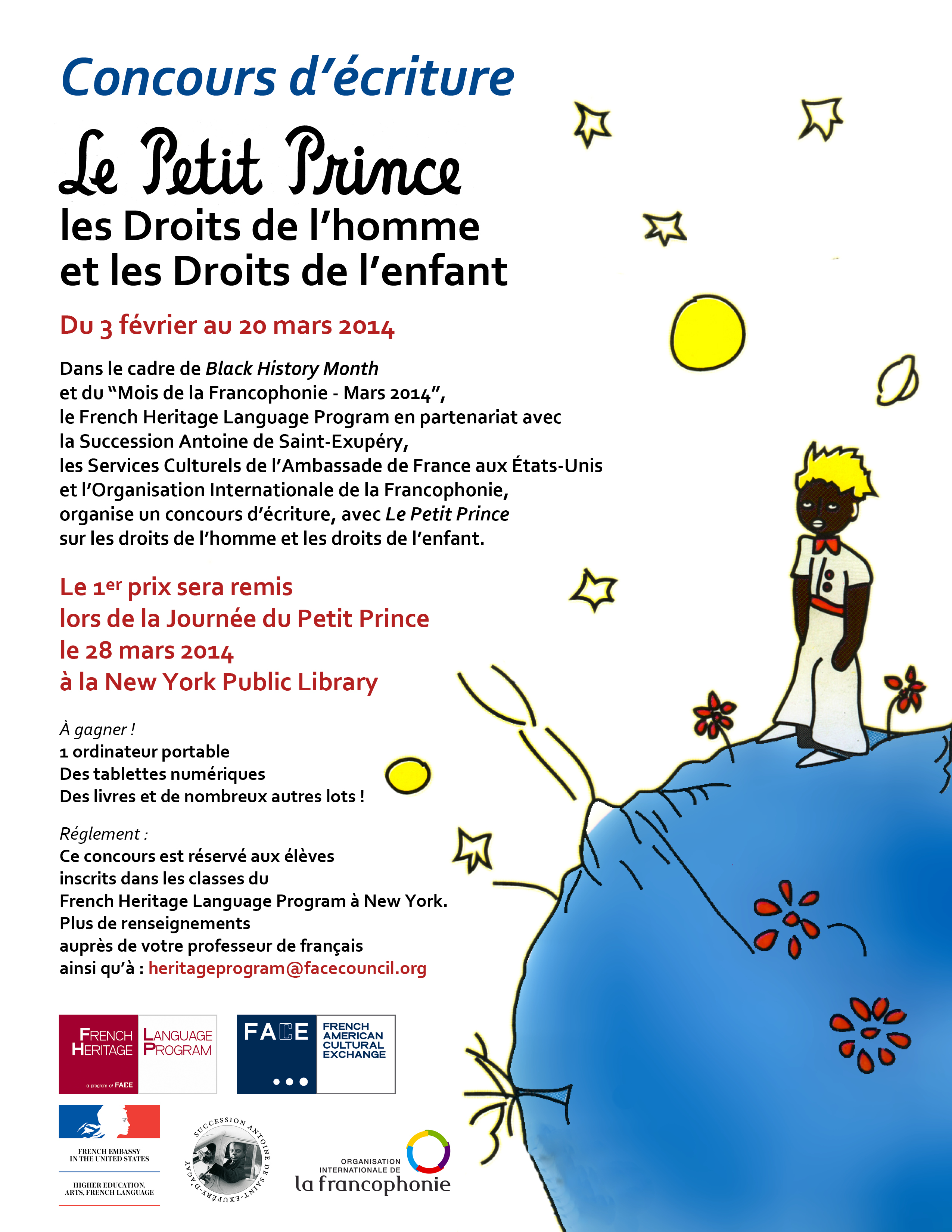 Little Prince New York human rights, children's rights and le petit prince - new