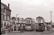 Turnpike Lane Bus Islands, 1968