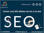 How Local SEO Company help you to fix Local SEO Mistakes