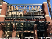 Oracle Park exterior; San Francisco, CA