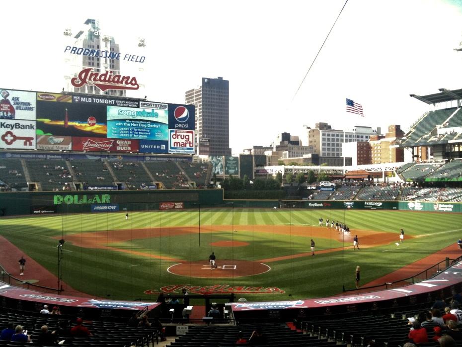 Progressive Field; Cleveland, OH