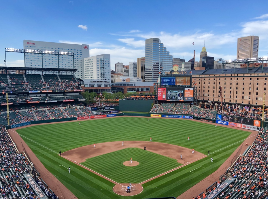 Oriole Park at Camden Yards; Baltimore, MD