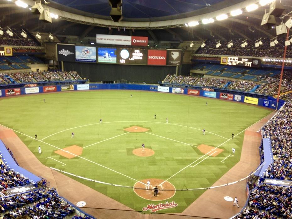Olympic Stadium; Montreal, QBC (retired)