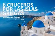 6 Cruceros por las islas griegas vacaciones singles