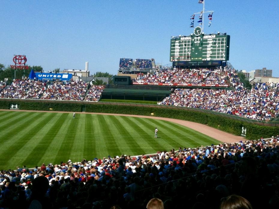 Wrigley Field; Chicago, IL