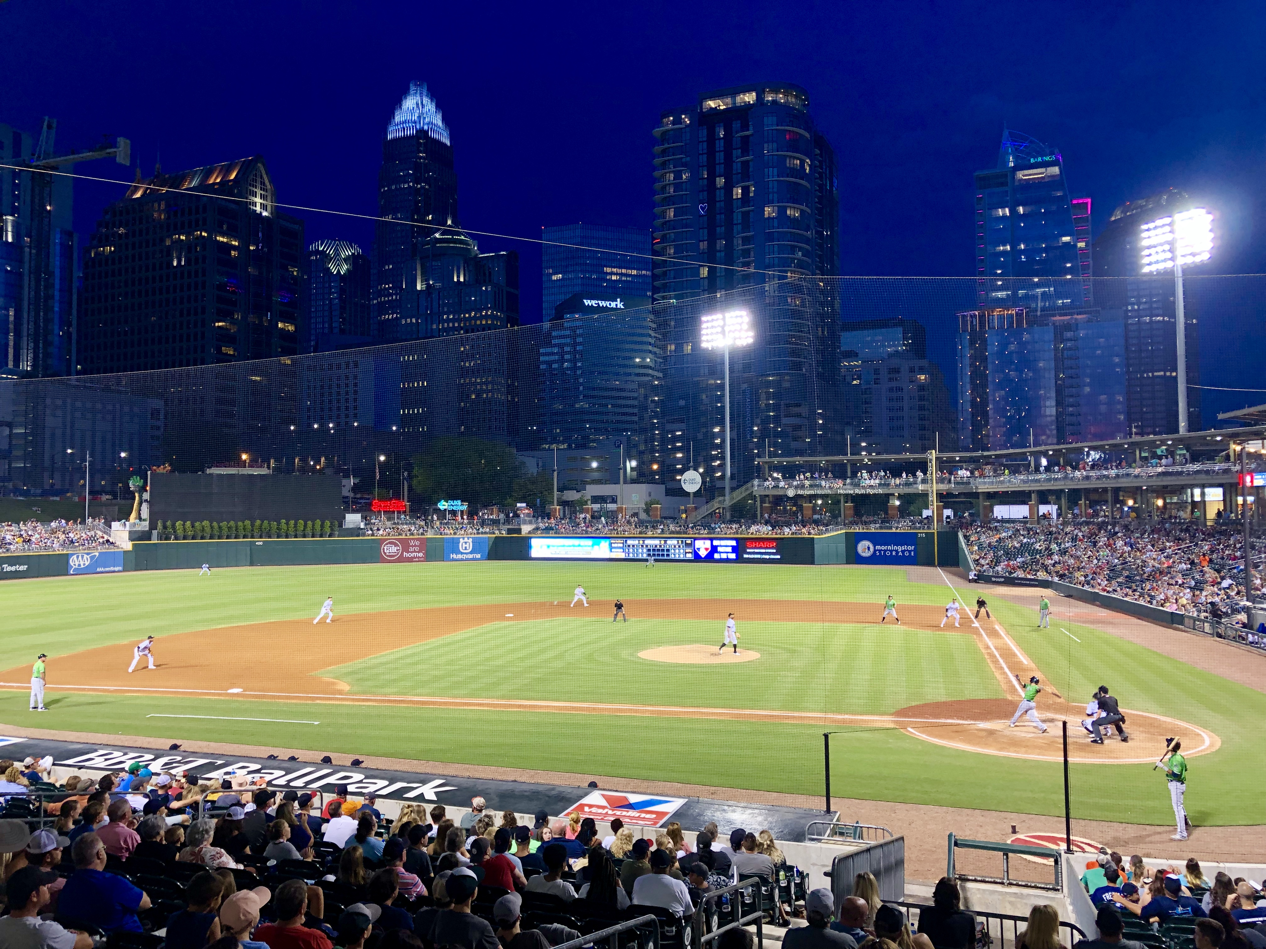 BB&T Ballpark; Charlotte, NC