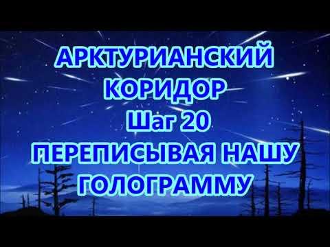 АРКТУРИАНСКИЙ  КОРИДОР- Шаг 20 -ПЕРЕПИСЫВАЯ НАШУ  ГОЛОГРАММУ
