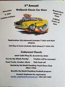 3rd ANNUAL WOLFPACK CLASSIC CAR SHOW
