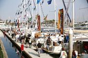 LA Harbor In Water Boat Show