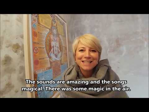 People in France share their experience of Matthew Kocel's sound healing concerts...