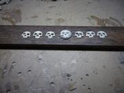 Bone fret markers