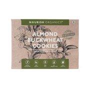 almond buckwheat cookies