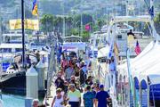 LA Harbor Boat Show Docks at Cabrillo Way Marina, Sept 19-22