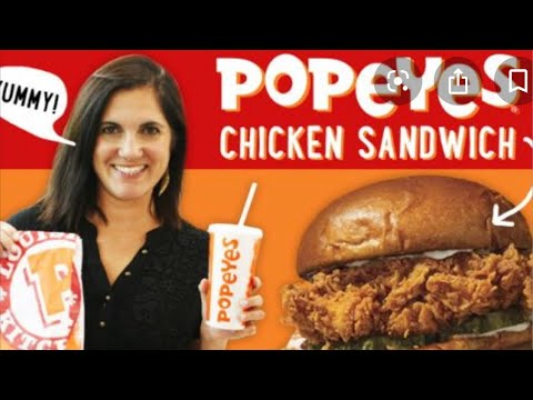 The Popeyes chicken hype is a little embarrassing