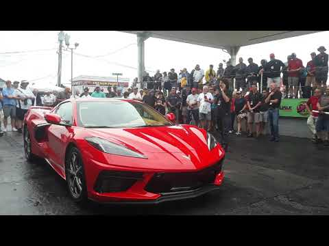Enthusiasts At Corvettes At Carlisle Say Hello To the Exciting 2020 Corvette Stingray C8