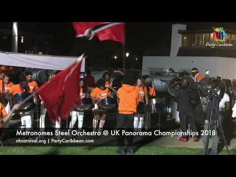 Metronomes Steel Orchestra @ UK Panorama Championships 2018