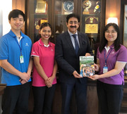 "Sandeep Marwah Covered by South Korean Magazine ""Tomorrow"""