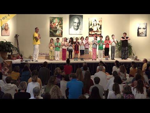 Kinderyoga und Kampfkunst - Vorführung