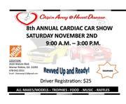 8th Annual CARDIAC Car Show