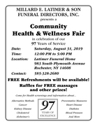 Community Health & Wellness Fair